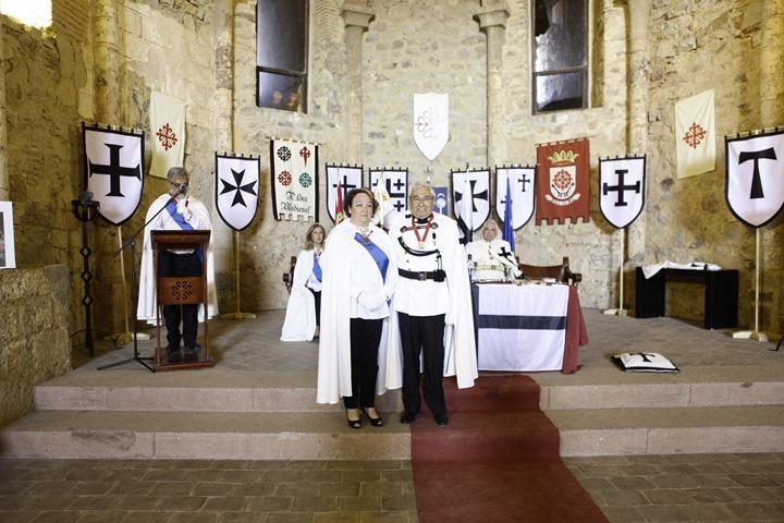 Prado de la Morena imponía la medalla al lugarteniente de los caballeros teutones de España