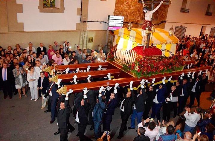Procesión septembrina del Cristo de Orense en Brazatortas
