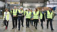 Caballero anima al empresario Pernod Ricard a seguir con su compromiso de generar empleo y riqueza en la provincia
