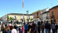 El Ayuntamiento de Granátula de Calatrava inauguró la remodelación de la plaza de España y conmemoró la Constitución