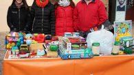 La agrupación de Ciudadanos de La Solana- Membrilla recoge alimentos y juguetes para Cáritas y Cruz Roja