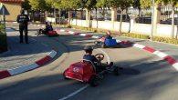La Policía Local de Valdepeñas dirige una Pista de Educación Vial con karts