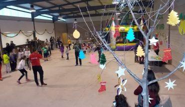 Los niños de Villamayor de Calatrava disfrutan estos días del parque de ocio Villarama