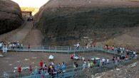 """Unas 9.500 personas pasaron por el museo-volcán """"Cerro Gordo"""" de Granátula de Calatrava en 2016"""