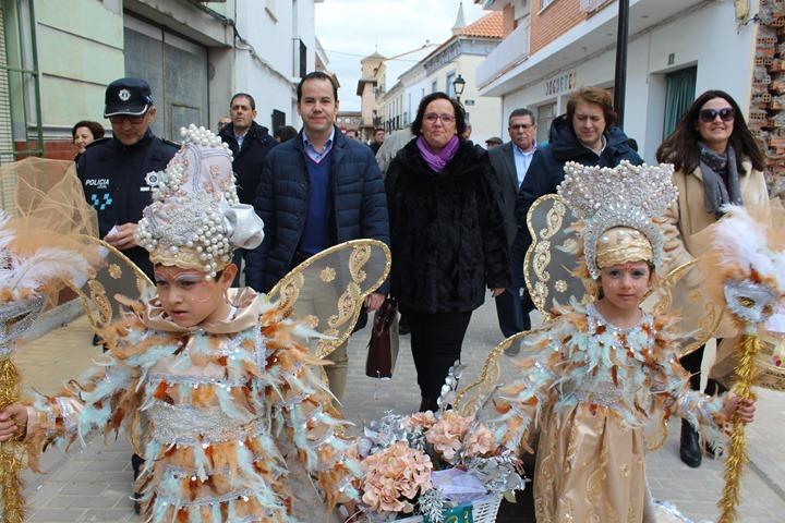 Carmen Olmedo en carnaval de Herencia 1