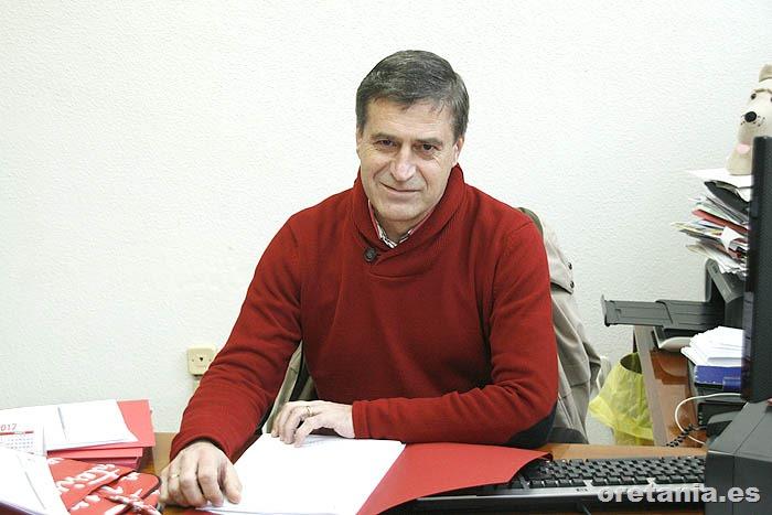 Jacinto Arriaga concejal de Deportes de Argamasilla de Calatrava
