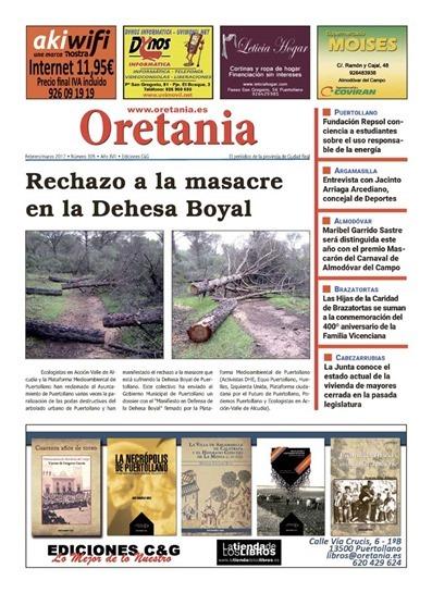 Portada Oretania 305