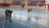 El Ayuntamiento de Aldea del Rey renueva equipamientos municipales y marca nuevas pistas de bádminton para potenciar las Escuelas Deportivas