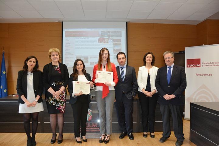 Foto familia Premios UCLM-Colegio Notarial