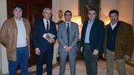 El alcalde de Villamayor de Calatrava ha sido recibido por el presidente de la Diputación