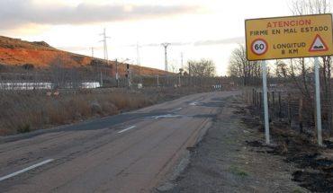El PP solicita a las cortes regionales  presupuesto para arreglar la carretera de Villamayor a Ciudad Real