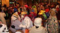 La concentración de máscaras callejeras lleno de animación el lunes de carnaval en Miguelturra