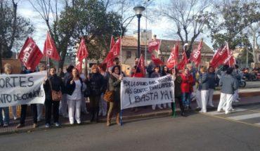 Las limpiadoras de los hospitales de Toledo se movilizan contra la sobreexplotación a las que, según CCOO, las somete Ferrovial Servicios