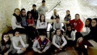 Los escolares del CEIP 'Nuestra Señora de Peñarroya' promocionan el Quijote y Argamasilla de Alba en Europa