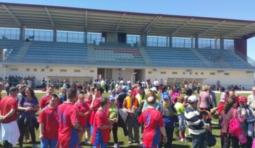 300 personas con discapacidad participan en Almadén en los encuentros deportivos de Laborvalía