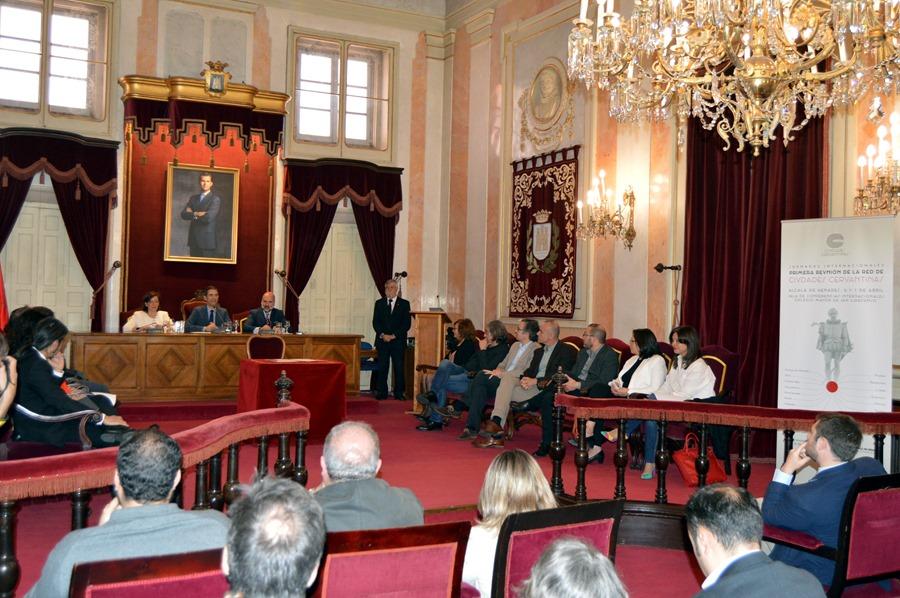 CIUDADES CERVANTINAS ACTO CONSTITUCION