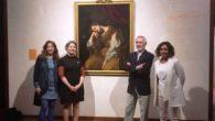 La directora del Instituto de la Mujer visita en el Museo de El Greco el cuadro de María Magdalena de Artemisa Gentileschi