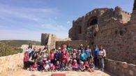 Los escolares del Colegio 'Maestro Navas' de Aldea del Rey visitan el Castillo de Calatrava y Villa Isabelica