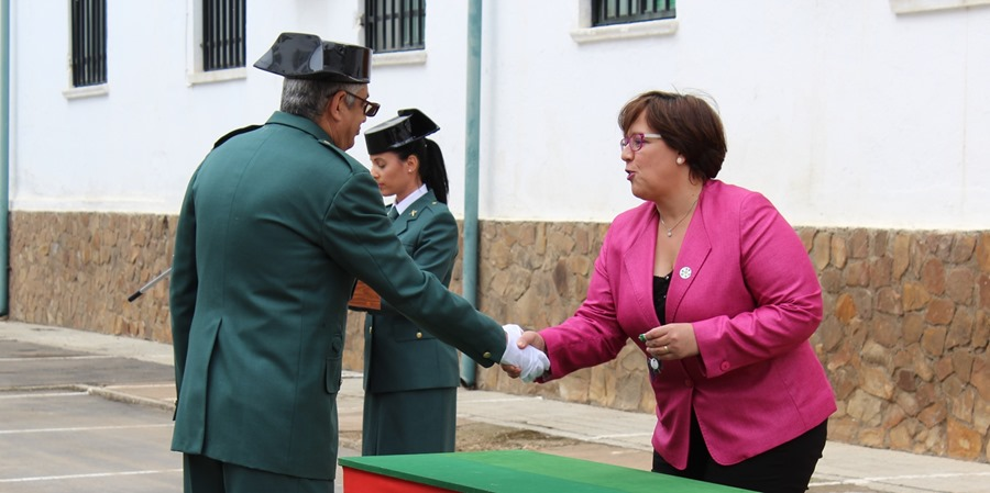 Carmen Olmedo - acto Guardia Civil 2