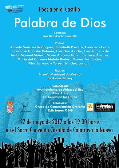 Cartel recital en Aldea del Rey web