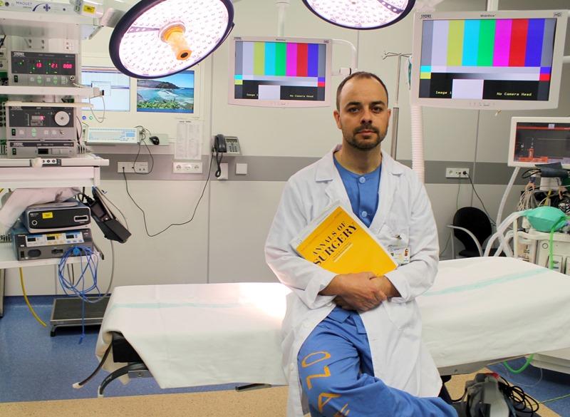 FOTO NOTA SANIDAD. Estudio multicéntrico cirujano Toledo