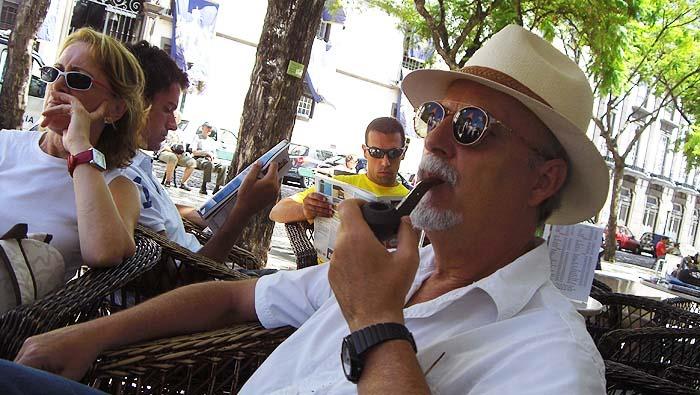 Miguel Galanes, autor de Cauce de la desolación