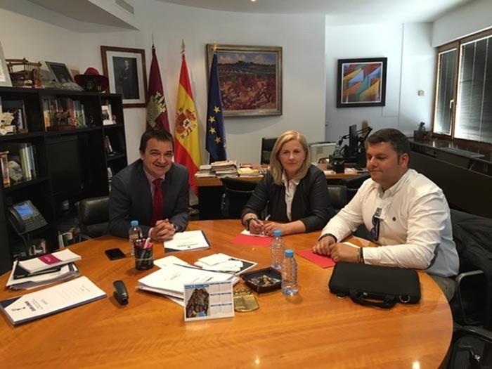 Reunión de UGT con el Consejero de Agricultura, Medio Ambiente y Desarrollo Rural de Castilla La Mancha