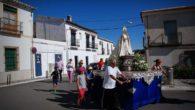 Ambiente inmejorable en la romería en honor a la Virgen Blanca de Torralba de Calatrava