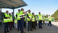 El alcalde visitó la empresa Carburos Metálicos, que celebra el 120 aniversario de su planta en Valdepeñas
