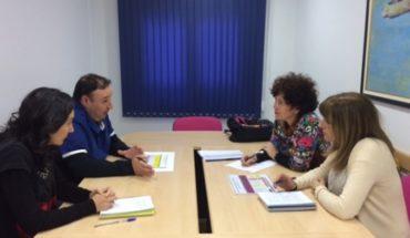 El Instituto de la Mujer de Castilla-La Mancha se interesa por los programas que desarrolla el Centro de la Mujer de Campo de Criptana