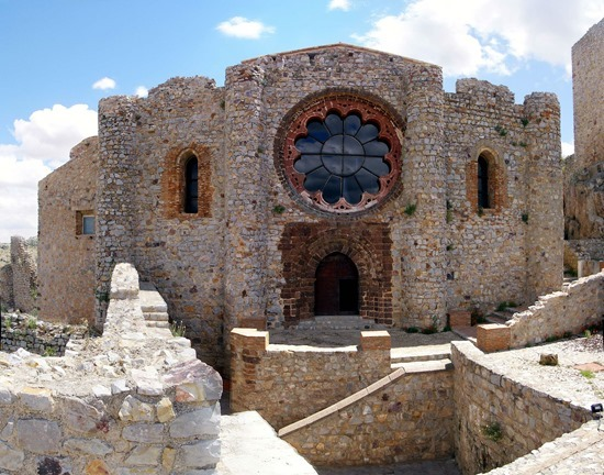 CALZADA_Fachada Iglesia Calatrava la Nueva