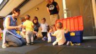 El CAI de Manzanares cuenta con nuevo suelo de caucho y vallado de seguridad en el patio de la guardería
