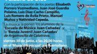 """En el museo municipal de Puertollano se escuchará 'Palabra de Dios' con la colaboración de la escuela de música """"Juan Cañadas"""" de Argamasilla de Calatrava"""
