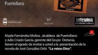 """José González Ortiz presenta """"La Reina-Dios"""" en la Feria del Libro de Puertollano y firmará ejemplares de sus libros en las casetas de 'La Mancha' y 'Minerva'"""