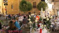 Villanueva de los Infantes  se unió a la celebración de la Noche más romántica con la Asociación de Pueblos Más Bonitos de España