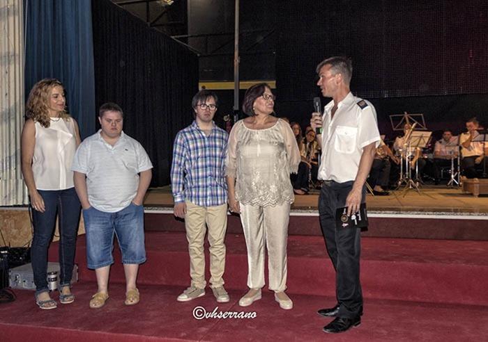 La Gala fue a beneficio de la Asociación Síndrome de Down 'Caminar'