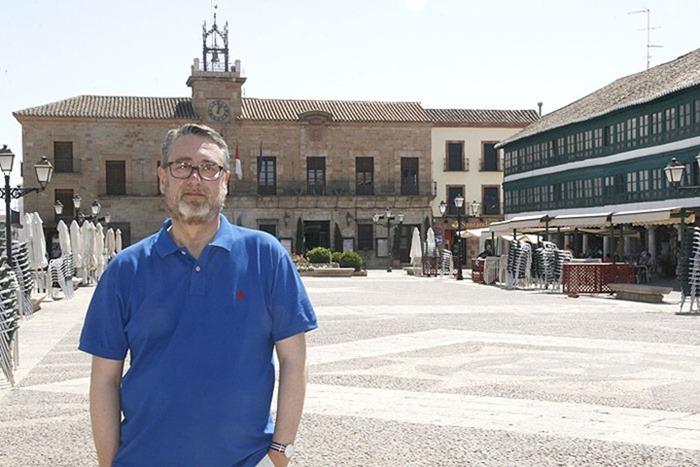 Luis Maldonado portavoz del actual primer partido de la oposición en el ayuntamiento de Almagro