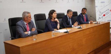 Castilla-La Mancha y Liberbank trabajan de la mano para impulsar y hacer progresar la práctica deportiva en toda la región