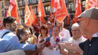 CCOO y UGT se concentran en Toledo para exigir más empleo público, salarios justos y recuperación de derechos para los trabajadores de la Administración General del Estado
