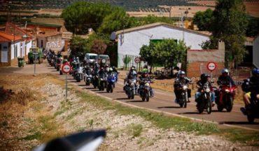 Cerca de 150 motoristas participaron en la 12+1 concentración de motos de Malagón