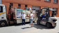 Cruz Roja Almodóvar del Campo inicia el Programa 2017 de Ayuda Alimentaria con el reparto de 1.800 kilos