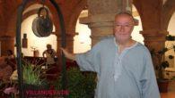Dionisio Cañas presentó en Villanueva de los Infantes el libro de poemas 'La noche de Europa' y el documental 'Soy yo'