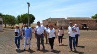 El alcalde de Granátula de Calatrava trasladó las necesidades del pueblo a la delegada de la Junta en la provincia