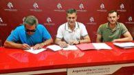 El Consistorio de Argamasilla de Calatrava firma convenios de colaboración con los clubes deportivos