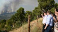 El Gobierno de Castilla-La Mancha destaca la coordinación y colaboración de todos los medios que trabajan en el incendio de Yeste