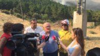 El Gobierno regional agradece la colaboración del Estado y las comunidades autónomas de Andalucía y Murcia en el incendio de Yeste