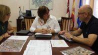 Infraestructuras municipales, educación y vivienda centran la reunión del alcalde de Corral de Calatrava con la Junta