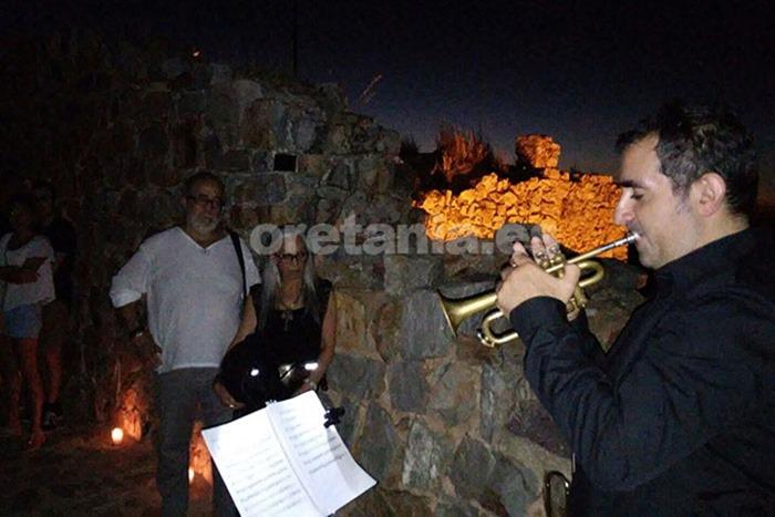 Ángel Pardo Barba, intérpretó magistralmente diferentes melodías de música barroca