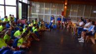 Pérez Pizarro y Paniagua transmiten sus valores a los alumnos del Campus de Verano de Baloncesto de Ciudad Real