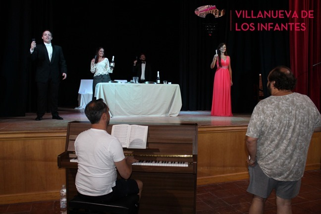 Ensayos de La Traviata